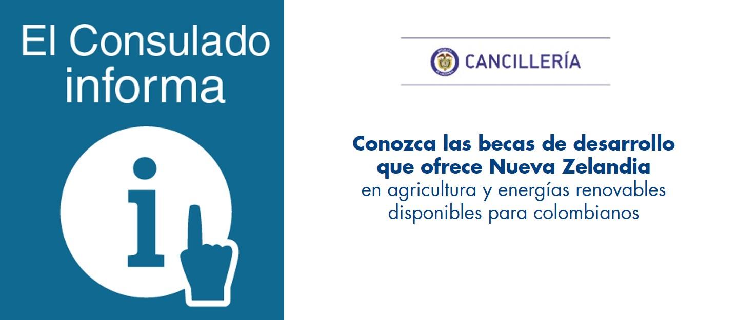 Consulado de colombia en auckland - Becas para colombianos en el exterior ...