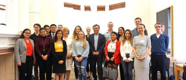 Consulado de Colombia en Auckland saludó a estudiantes neozelandeses que realizarán pasantías en Colombia