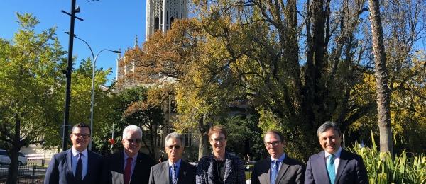 El Consulado en Auckland acompañó al Embajador de Colombia en Australia, Jaime Bueno Miranda, durante su visita a Nueva Zelanda